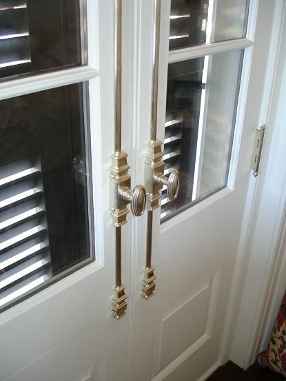Cremone Bolts On French Doors Kitchen Pinterest