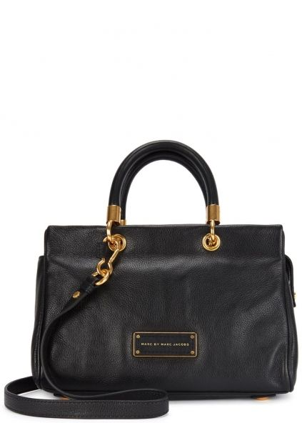 To Hot To Handle black leather shoulder bag - Bags - All Accessories - Women