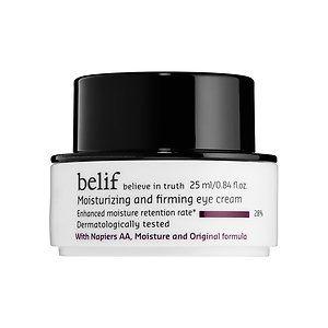 belif moisturizing and firming eye creams