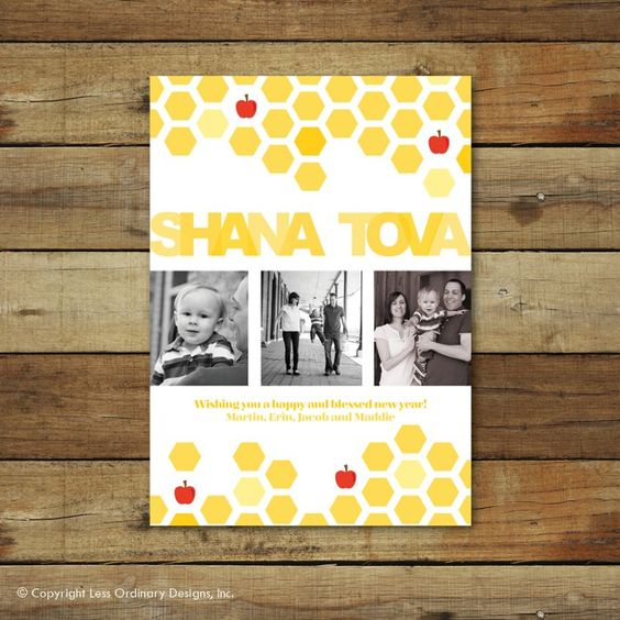 Pin for Later: 7 Rosh Hashanah Crafts to Prepare For the Holiday Holiday Greetings