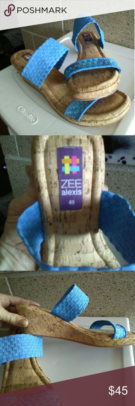 ZEE ALEXIS CORK SANDALS ZEE ALEXIS CORK SANDALS ZEE ALEXIS Shoes Sandals