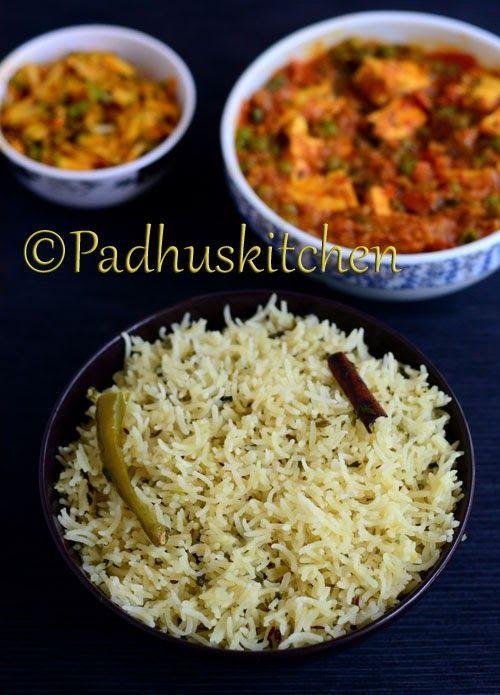 Thengai Paal Sadam Coconut Milk Rice Recipe Indian Food
