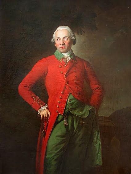 "Anton GRAFF, ""Retrato del Barón Johann Christian von Hofenfels (1744-1787)""; óleo sobre lienzo, 1783-1784"