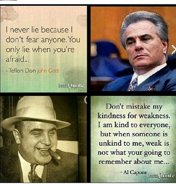 Two of my favorite Italian mobsters.... Specially Al capone!