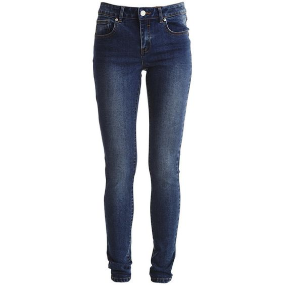 Vila Crush 5p - Slim Fit Jeans (£14) ❤ liked on Polyvore