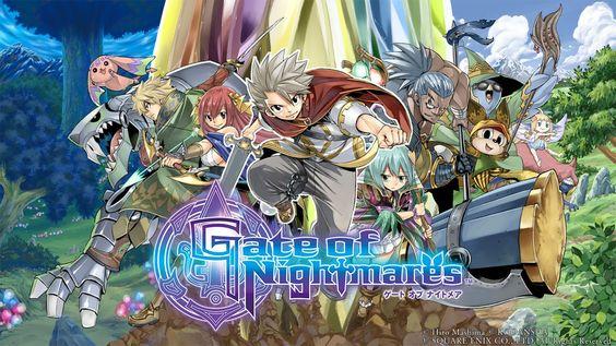 Square Enix Tiết Lộ Trò Chơi Nhập Vai Mới Gate of Nightmares Trên Điện Thoại Thông Minh
