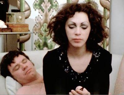 Holly Woodlawn femulating in the 1971 film Women in Revolt.