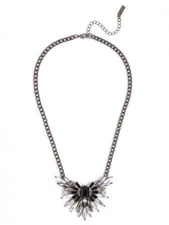 this fierce fireball pendant is daring statement piece