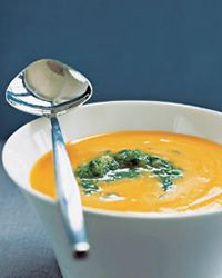 Alkaline Recipe #69: Carrot and Artichoke Soup  - This soup is made of jerusalem artichokes and carrots, which give it a smooth texture and a very earthy taste.