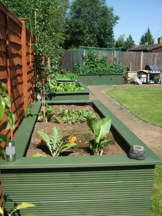Gardens raised beds and fence design on pinterest for Garden design for disabled