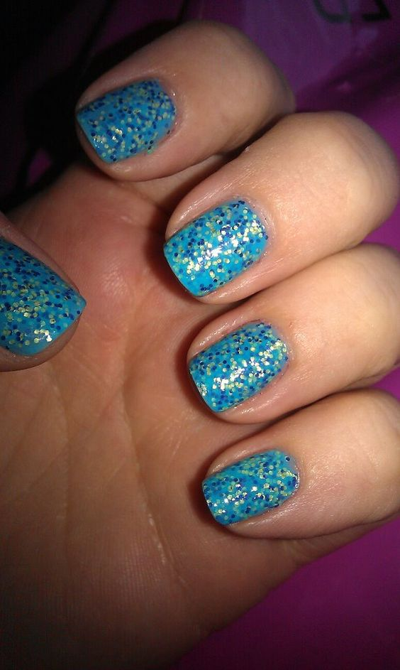 Nails Inc Pudding Lane which is part of their new sprinkles collection which is due for release in June 2012.