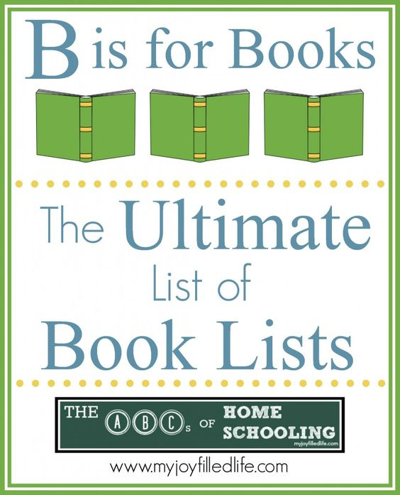 Great list of book lists ~ MANY links to different types of lists!
