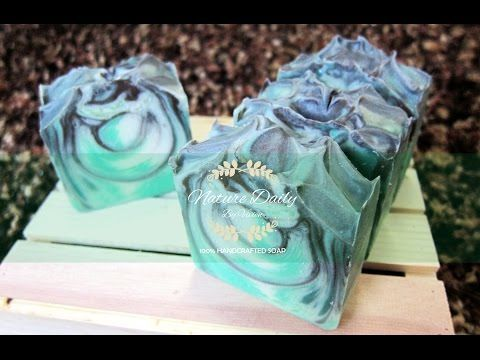 Soap Making ~ Natural Touch by NatureDaily - YouTube