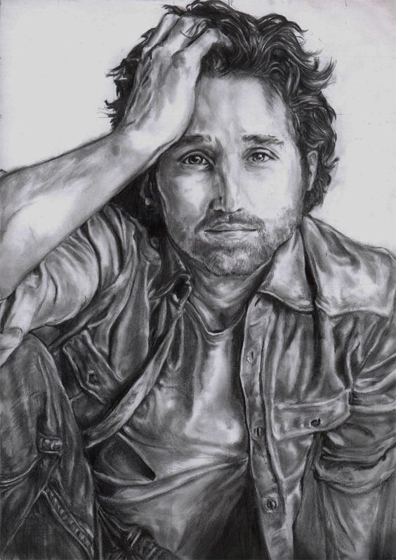Grey's Anatomy Cast Art Sketches | Patrick Dempsey by ...