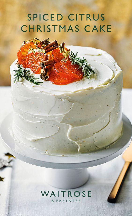 Spiced Citrus Christmas Cake Christmas Cake Recipes Fruit Cake Christmas Fruit Cake Recipe Christmas