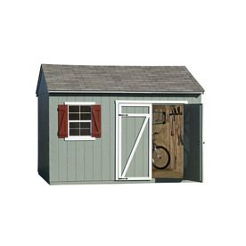 Heartland Gentry Saltbox Engineered Wood Storage Shed Common 12
