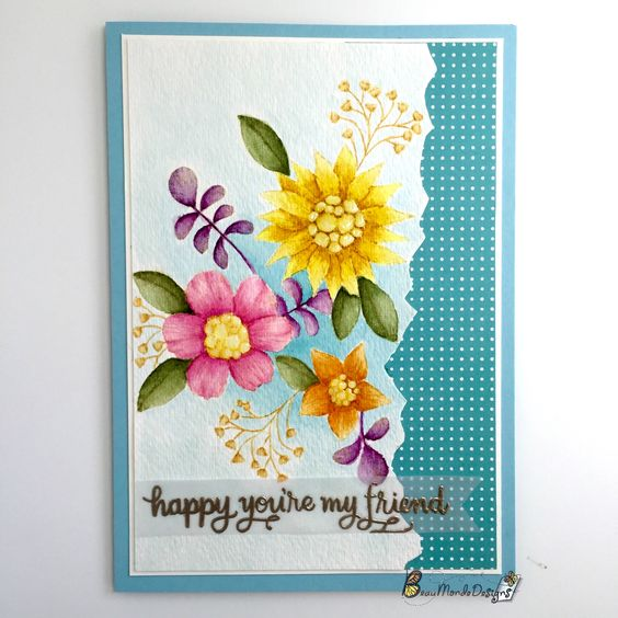 Absolutely Gorgeous card by Payel using Simon Says Stamp Exclusives.