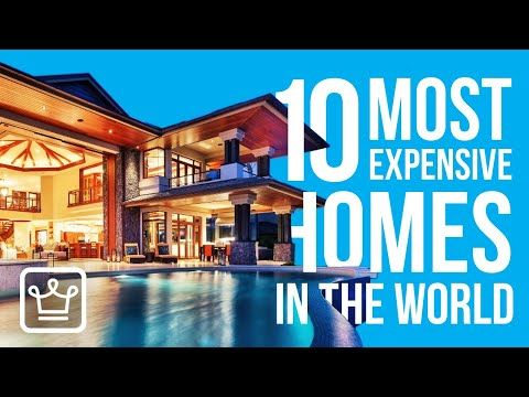 Top 10 Most Expensive Homes 2020 Youtube Expensive Houses Most Expensive Amazing Architecture