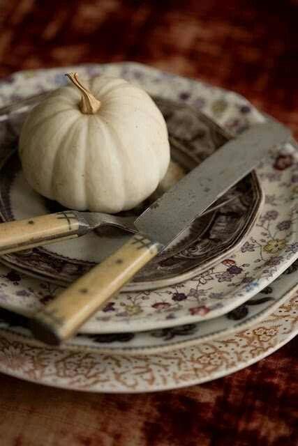 Vintage Fall Table