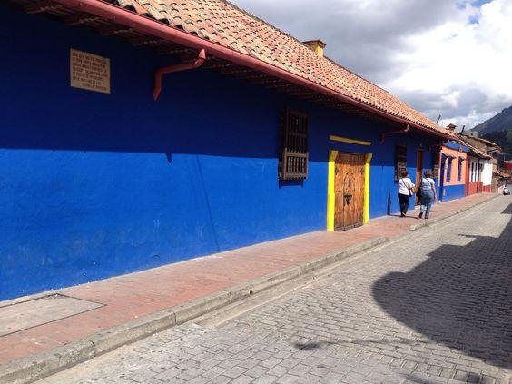 Bogota colonial- casa en la Candelaria