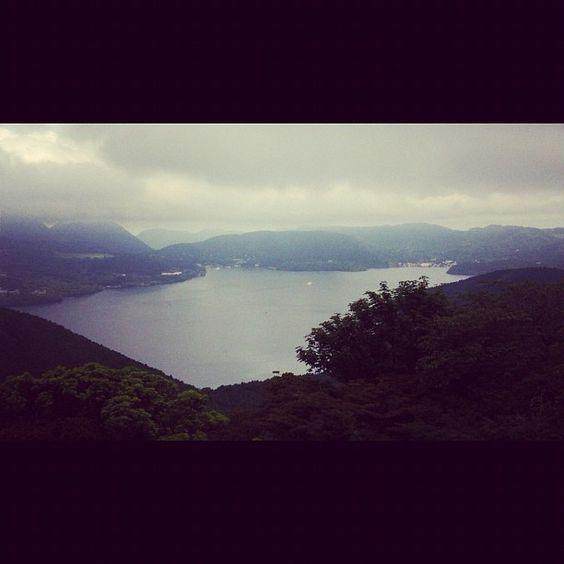 芦ノ湖 (Lake Ashinoko) in 箱根町, 神奈川県