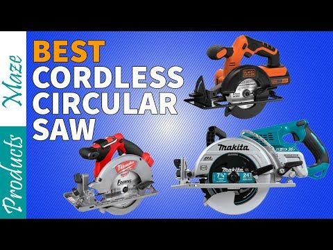 7 Best Cordless Circular Saw Reviewed In 2020 Top Rated Youtube In 2020 Best Cordless Circular Saw Circular Saw Reviews Cordless Circular Saw