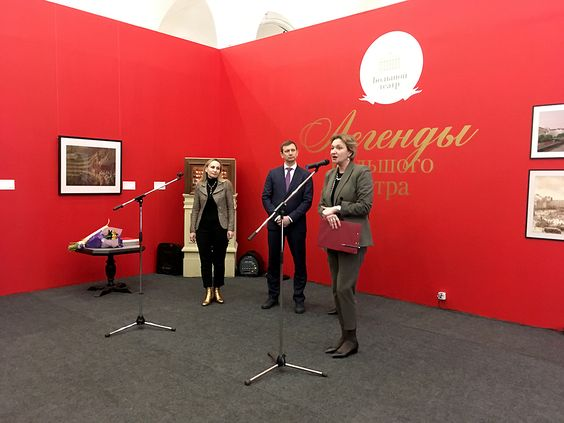 Выступление директора Музея изобразительных искусств в Калининграде на открытии выставки. Фото Жени Шведы