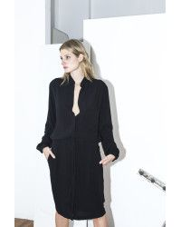 Assembly New York | Black Shirt Dress | Lyst