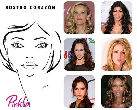 Cortes y estilos de peinados para mujeres con forma de cara corazón