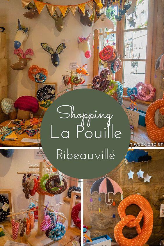 Idée shopping en Alsace - les bretzels en tissus de la marque La Pouille, fabriqués à Ribeauvillé