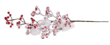 Baumschmuck Zweig mit roten Beeren