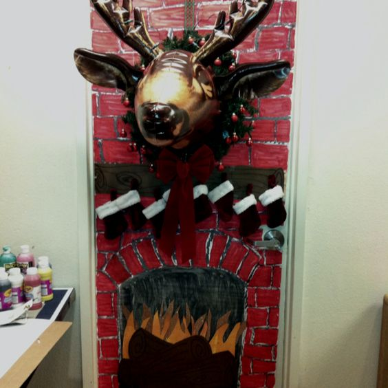Work door decorating contest!