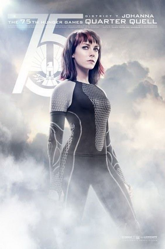New posters for The Hunger Games: Catching Fire - Johanna