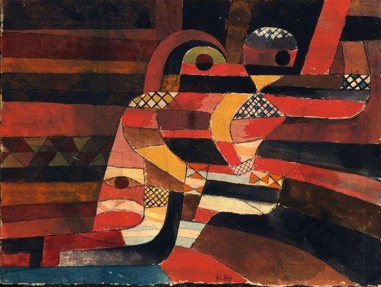 Paul Klee. Lovers 1920