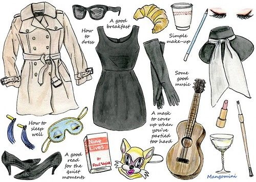 Holly Golightly's belongings <3