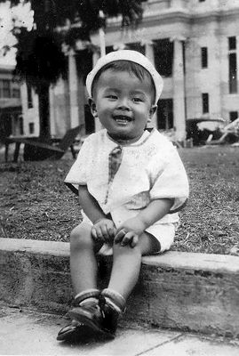 Who knew that this little boy from Hawaii would become third in line to the presidency?