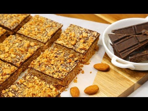 3 Healthy Ish Dessert Recipes Gluten Free Dairy Free Youtube Dessert Recipes Chocolate Almonds Oat Bar Recipes