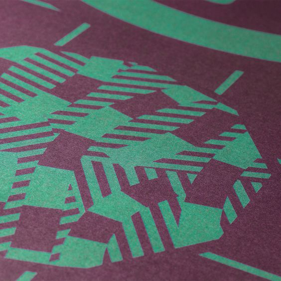 Print designed by Richard Hogg for Strut and Fibre's Ambassador Collection.