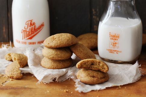 Pumpkin Pie Cookies - use your leftover pumpkin pie filling for these!