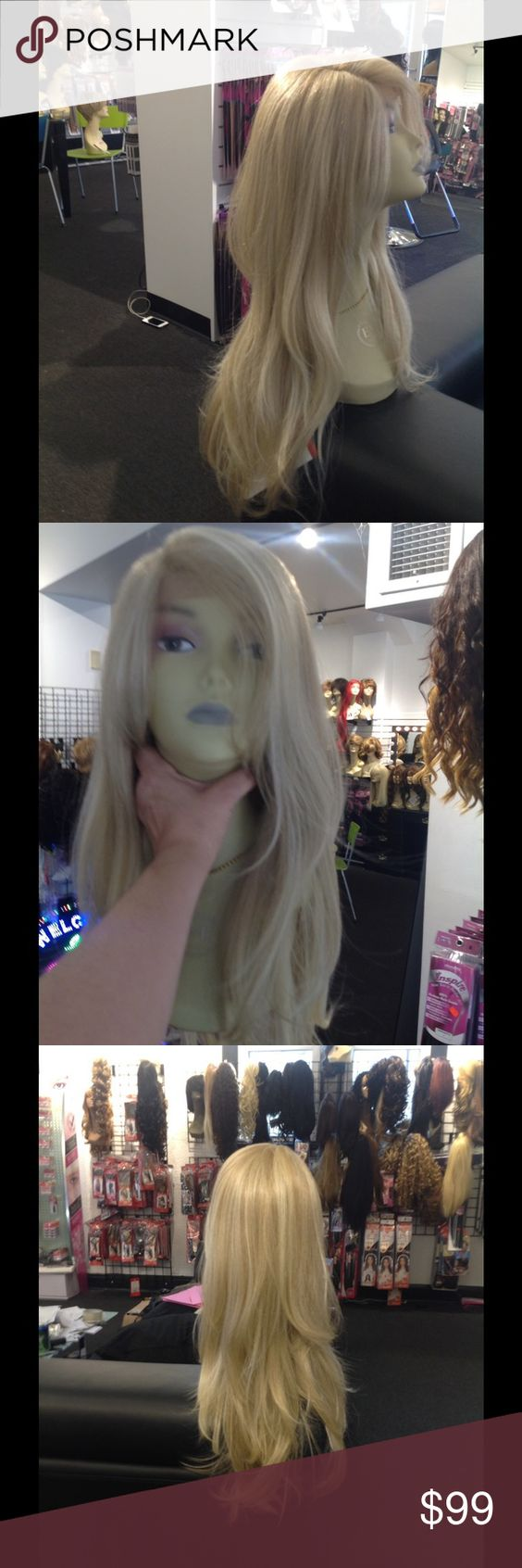 Hair accessories catalog request - Desirable Ash Blonde Lacefront Wig Ash Blonde In Stock Now I Had Many Request For This