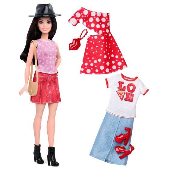Barbie® Fashionistas™ 40 Pizza Pizzazz Doll & Fashions - Petite - Shop.Mattel.com