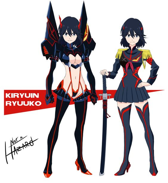 Birth Swap - Kiryuin Ryuuko by Not-a-Hazard Kill la Kill