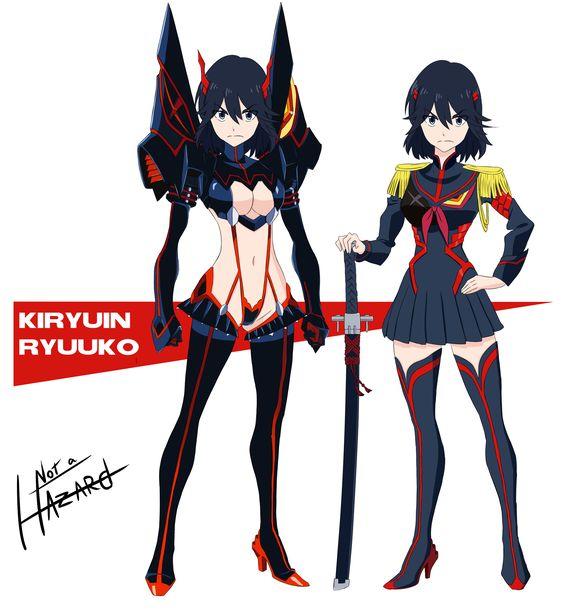 Birth Swap - Kiryuin Ryuuko by Not-a-Hazard Kill la Kill