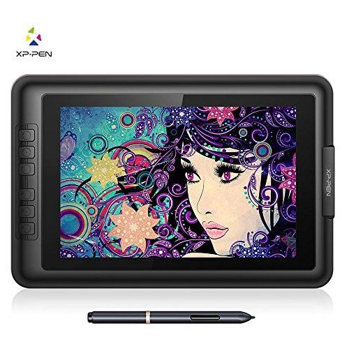 Xp Pen Artist10s V2 Ips 10 1 Inch Drawing Monitor Pen Display Graphics Drawing Monitor With Hdmi To Mac Cable And Anti Fo Drawing Tablet Drawings Metal Drawing
