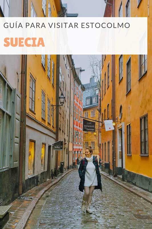 Qué Ver En Estocolmo En 3 Días Con Mapa 365 Sábados Viajando Estocolmo Estocolmo Suecia Lugares Para Visitar