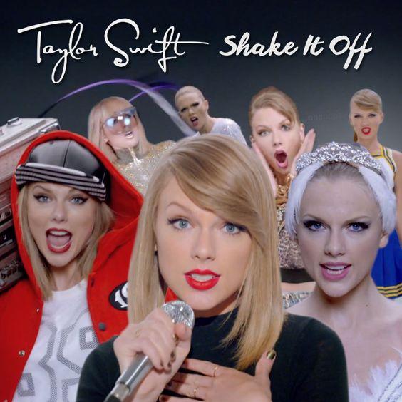 Taylor Swift – Shake It Off (single cover art)