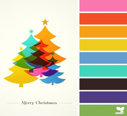 Christmas Colors Design Seeds And Christmas On Pinterest