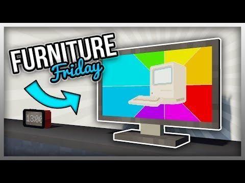 Mrcrayfish S Furniture Mod Flatscreen Tv The Modern Update Flat Screen Modern Flatscreen Tv