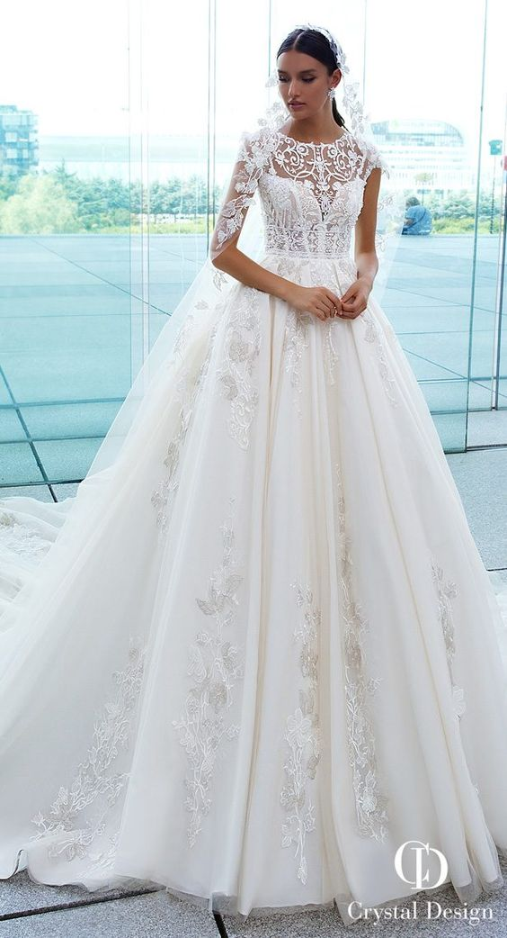 3 most popular Crystal Designs Wedding Dresses 2019