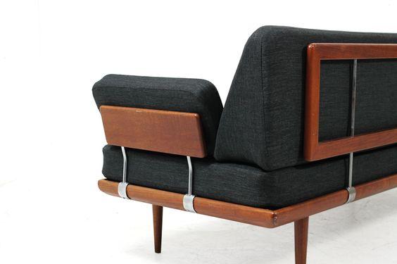 60s Teak Sofa l Daybed l Peter Hvidt & Orla Molgaard Nielsen für France & Son